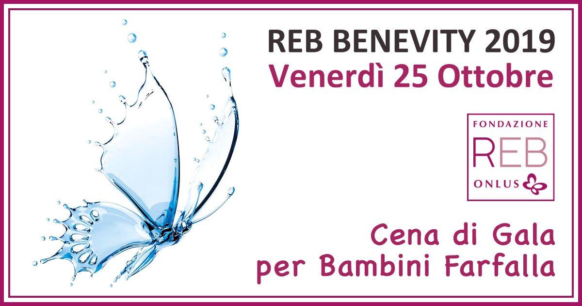 REB Benevity Bambini Farfalla 2019